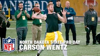 Carson Wentz Pro Day Breakdown | Path To The Draft | NFL