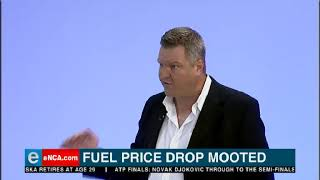 Fuel price drop mooted