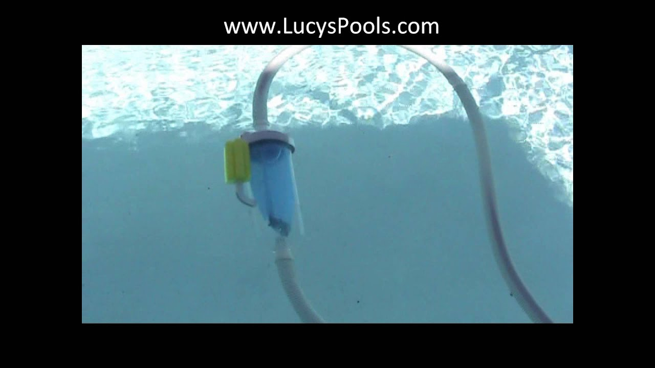 How To Make Your Pool Vac Leaf Canister Float Youtube