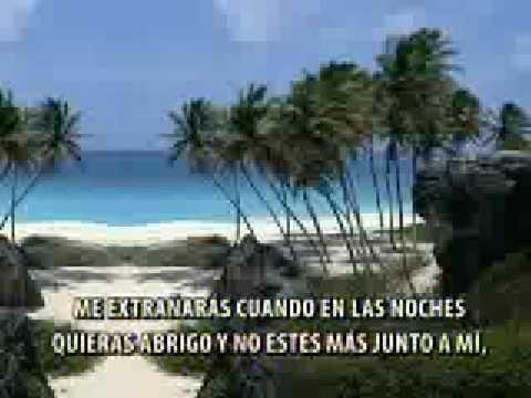 Caribeños - Me Extrañaras (KARAOKE 2)