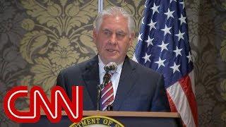 President Trump fires Rex Tillerson