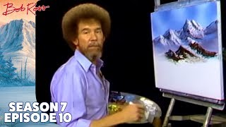Bob Ross - Mountain Glory (Season 7 Episode 10)