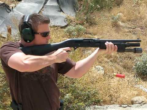 Стрельба из Benelli Semi-Auto