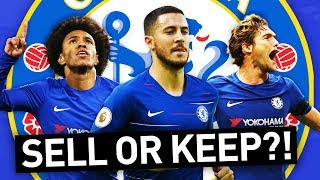 WHO WOULD I KEEP & SELL IN THE CHELSEA SQUAD?!