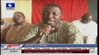 Ogun Labour Party: Crisis Trails Governorship Candidate for 2015