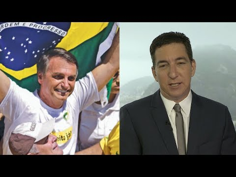 Could Brazil Return to a Dictatorship? Glenn Greenwald on Possible Election of Far-Right Demagogue