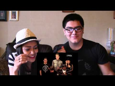 Evolution of Music by Pentatonix Reaction - #004