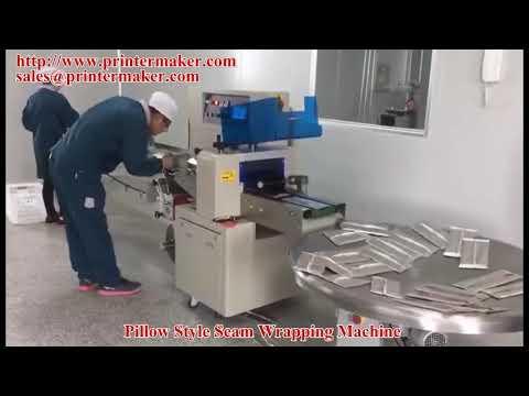 Pillow Style Seam Wrapping Machine