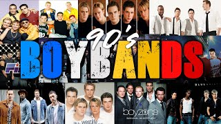 90's BOYBANDS [ Backstreet Boys, Boyzone, Westlife, NSync, Five, Blue, O Town, Plus One ]