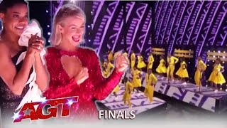 Ndlovu Choir Africa: Simon Calls This The BEST Ending To Finals EVER! | America's Got Talent 2019