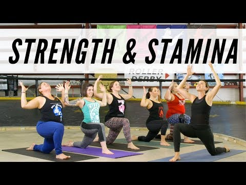Strength and Stamina - Roller Derby Yoga | Yoga With Adriene