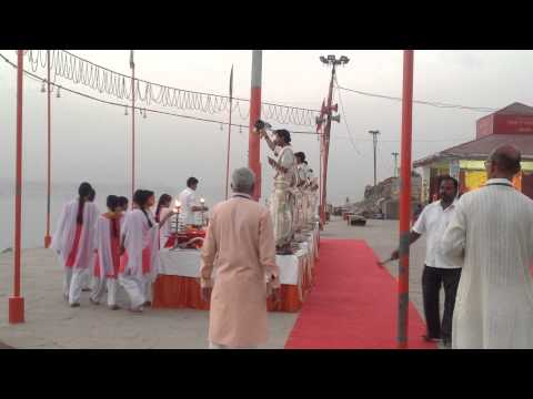 Ganga Aarti Assi Ghat Varansi India 4