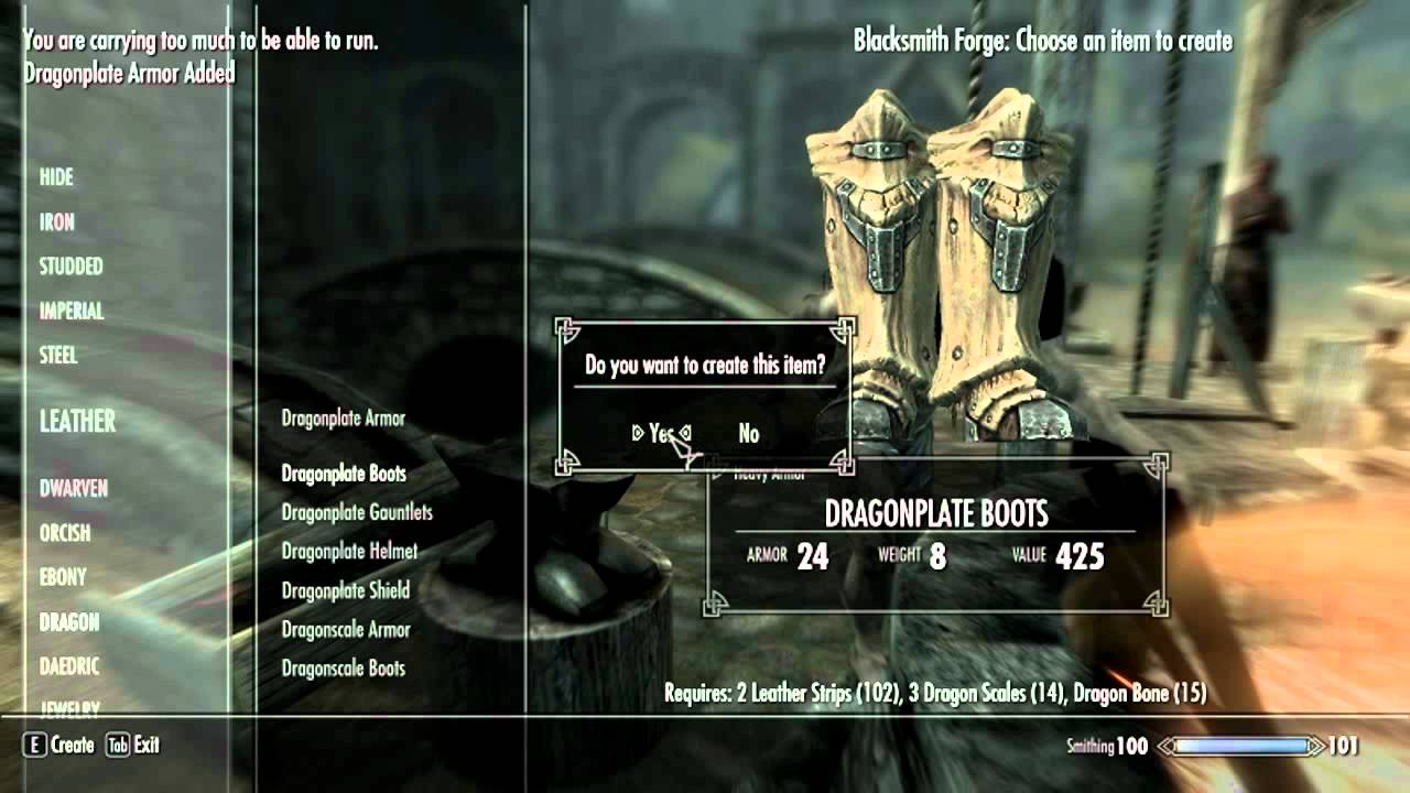 Skyrim All Crafting Ingrediants Mod