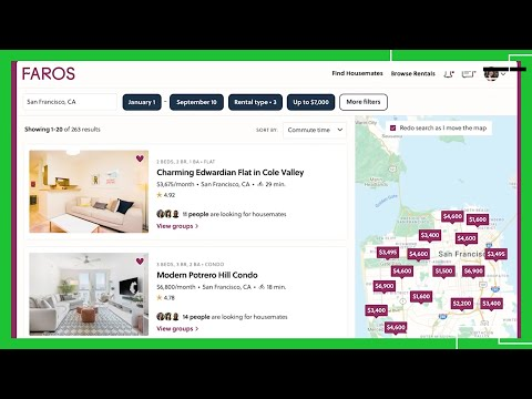 Faros a marketplace for furnished apartments and compatible housemates