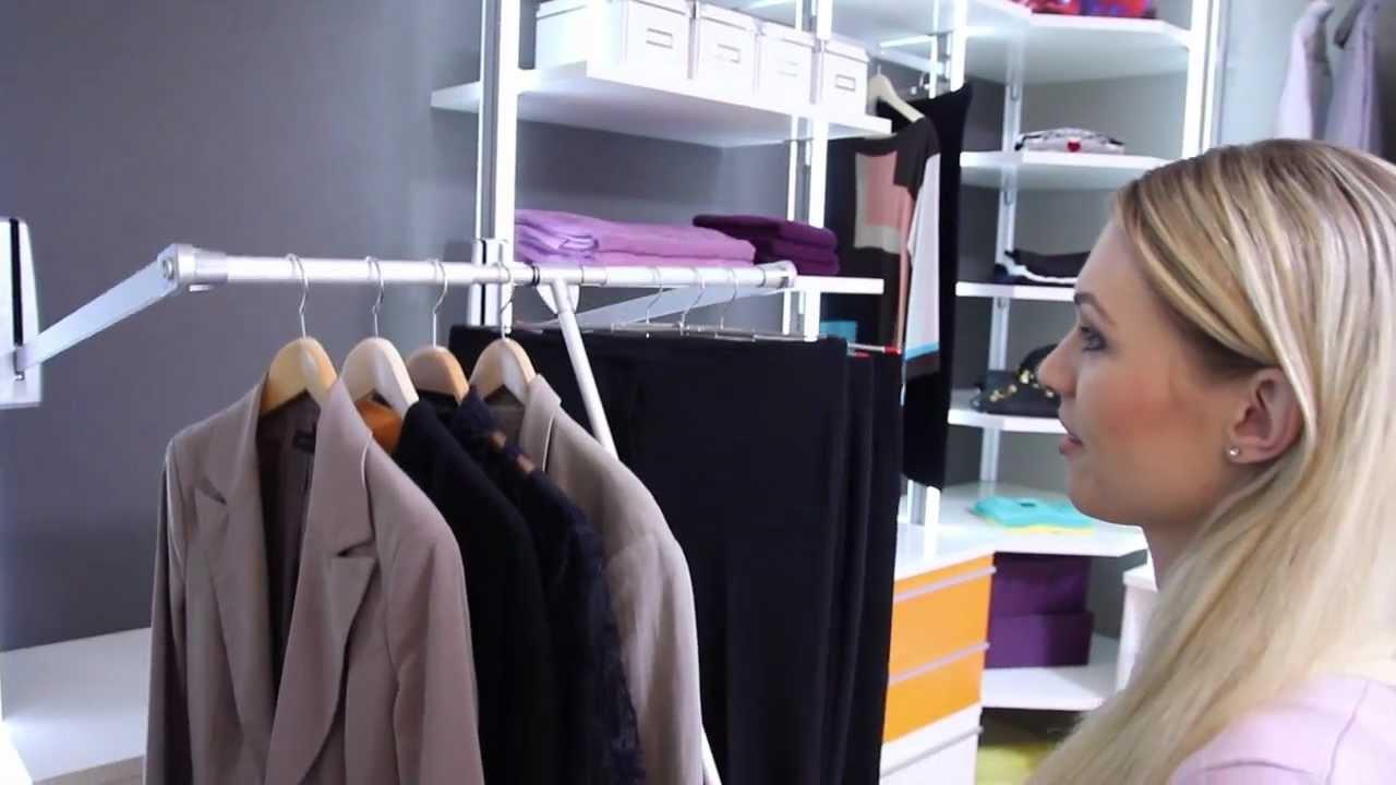 frank schranksysteme der begehbare kleiderschrank. Black Bedroom Furniture Sets. Home Design Ideas