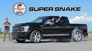 2020 Shelby F-150 Super Snake Review // The 770HP Truck We All Need