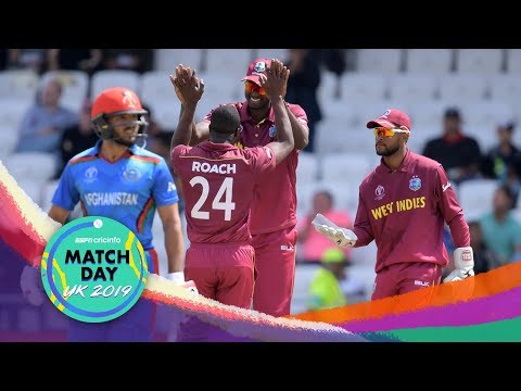 West Indies beat Afghanistan by 23 runs at Leeds