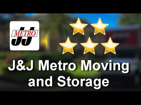 J&J Metro Moving and Storage Orlando Amazing Five Star Review by Eric K.