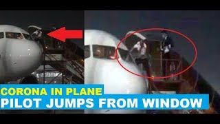Watch: Air Asia pilot rushes from window after suspected C..