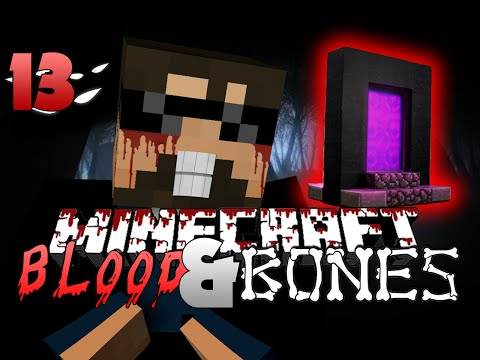 Minecraft FTB Blood and Bones 13 - THE NETHER (Minecraft Mod Survival FTB) - SSundee  - 0N451mC8IRA -