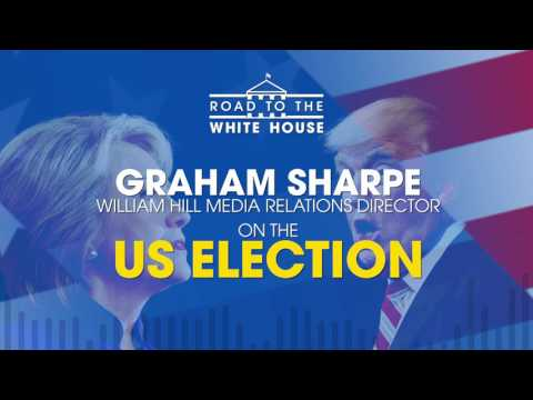 William Hill's Graham Sharpe talks betting on the US Election 2016