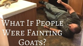 """What If People Were Fainting Goats? #3"" ~ Secret Identity Pictures Skit"