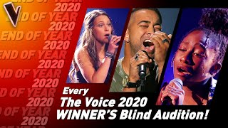 Blind Auditions of every WINNER of The Voice 2020 | SPECIAL