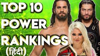 Top 10 Power Rankings June 2018