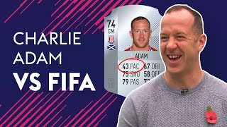 CHARLIE ADAM REACTS TO HIS 'EMBARRASSING' PACE! | CHARLIE ADAM VS FIFA 🔥🔥🔥