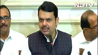 Devendra Fadnavis Resigns Ahead Of Maharashtra Floor Test ..