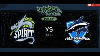 [ENG]DOTA2 LIVE | Team Spirit vs Vega Squadron Game2 | BO3