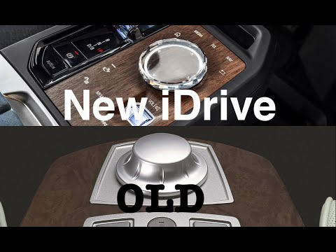 BMW iDrive System - A Look At The Old vs. New iDrive