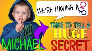 Michael Reveals a HUGE Secret || Mommy Monday