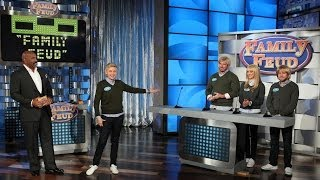 Ellen Plays 'Family Feud'