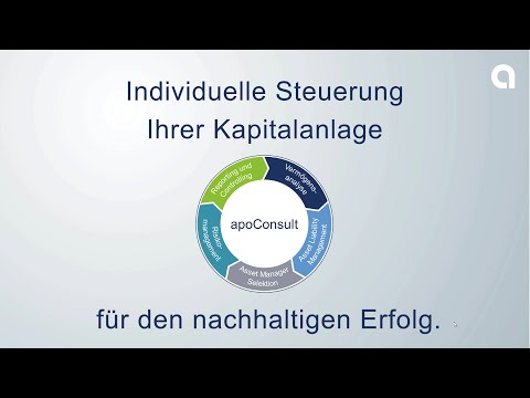 apoConsult für institutionelle Anleger