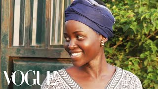 Lupita Nyong'o Makes Ugali on Her Family Farm in Kenya | Vogue