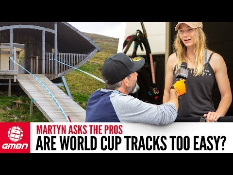 """Are Downhill World Cup Tracks Too Easy"""" 