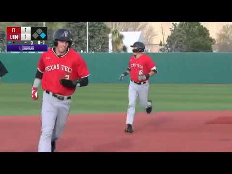 Texas Tech Baseball at New Mexico: Highlights (W, 15-6)   2019
