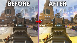 How to make Apex Legends look better and see enemies easier on Xbox/PS - (Best graphic settings)