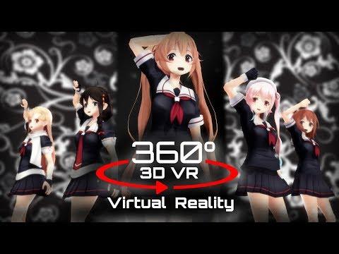 360 3D 4K | MMD Carry Me Off ?VR? ???ver