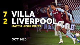 HIGHLIGHTS | Aston Villa 7-2 Liverpool