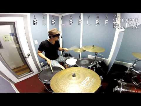 드럼레슨ㅣ6 stroke linear drum licks lesson_#01 드러머 엄주원의 드럼릭 - 6연음 플레이