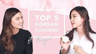 TOP 5 Korean Cushion Recommendations w. The Beauty Breakdown