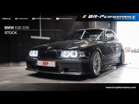 BMW E36 328i / Dynorun By BR-Performance