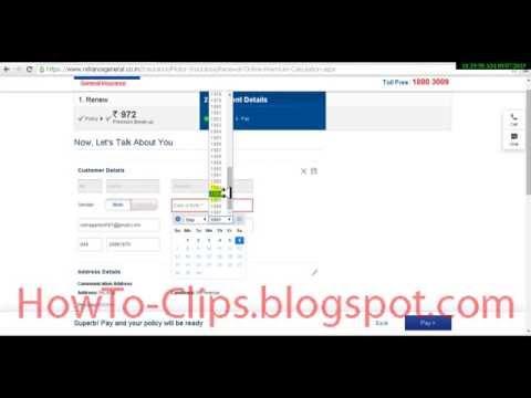 How to renew insurance of my Two wheeler motor bike online