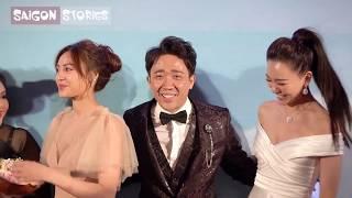 Hari Won giận yêu ông xã khi thấy Trấn Thành tình cảm với Lan Ngọc trong Cua lại vợ bầu