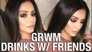 FRIDAY NIGHT GET GLAM READY WITH ME