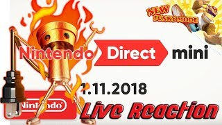 Nintendo Direct Mini 1.11.2018 Live Reaction!