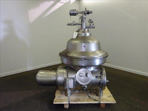 Used- Westfalia MSA-120-01-076 Desludger Disc Centrifuge - stock # 48485001
