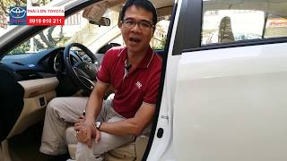 Hướng dẫn sử dụng xe Vios 2018 - 2019 Phần 3 - Các nút bấm trong xe